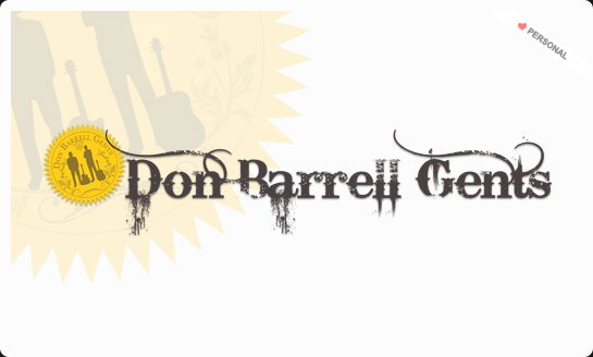 Don Barrell Gents logo