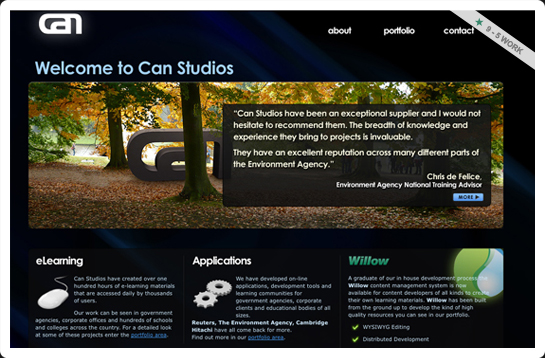 Can Studios website image